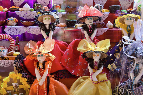 Photograph - Dia De Los Muertos Candy Catrinas by Tatiana Travelways