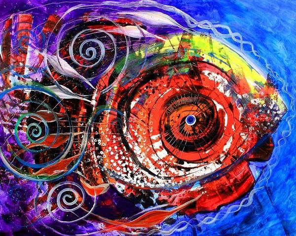 Painting - Diabla Grande by J Vincent Scarpace