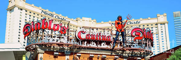Cantina Photograph - Diablos Cantina And Monte Carlo Casino 3 To 1 Ratio by Aloha Art