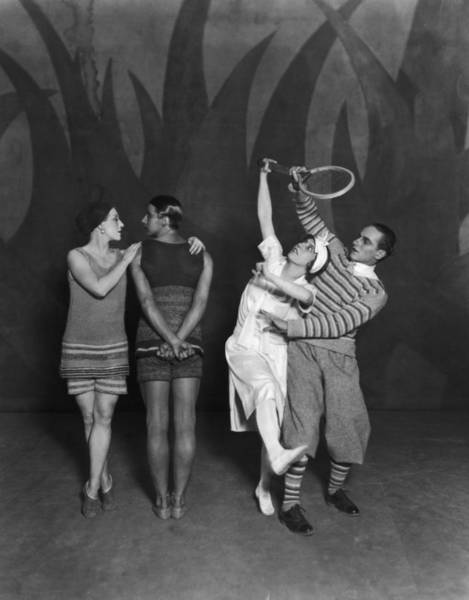 Photograph - Diaghilev Ballet by Sasha