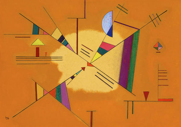 Wall Art - Painting - Diagonal - Diagonale by Wassily Kandinsky