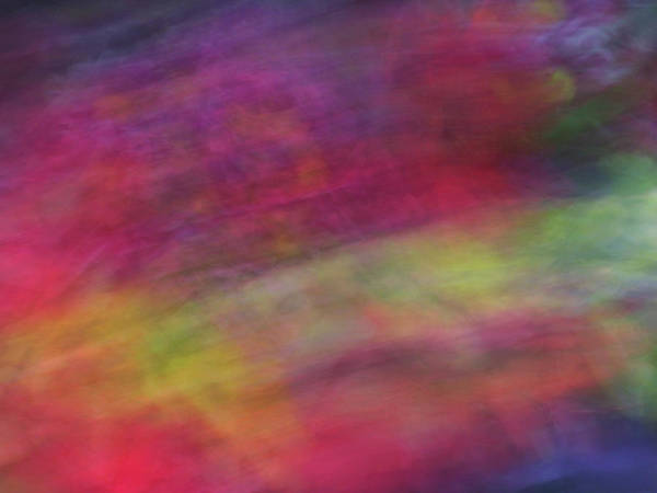 Photograph - Diagonal Soft Abstract Diagonal Lines Rainbow Colors Background Artwork by Teri Virbickis