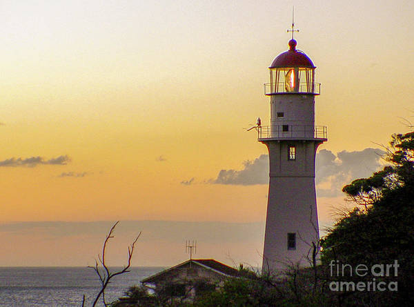 Photograph - Diamond Head Lighthouse - Honolulu, Hawaii by D Davila