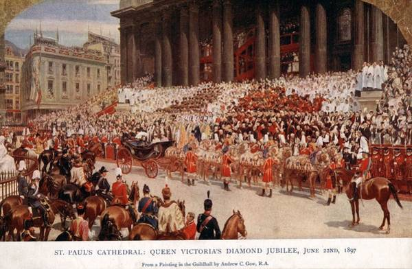 Queens Photograph - Diamond Jubilee by Hulton Archive