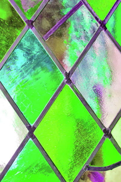 Photograph - Diamond Pane Green by JAMART Photography
