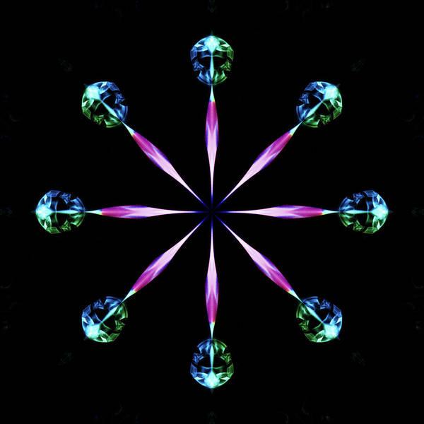 Photograph - Diamond Wheel by Steve Purnell