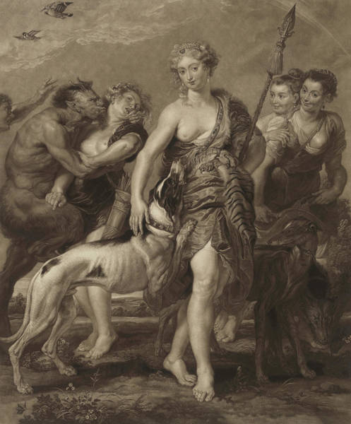 Wall Art - Painting - Diana And Her Nymphs On The Hunt, 1628 by Peter Paul Rubens