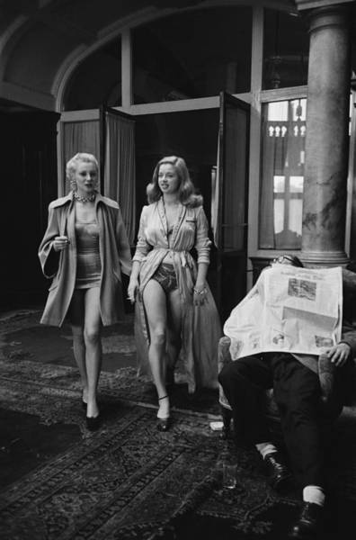 Photograph - Diana Dors On Location by Thurston Hopkins