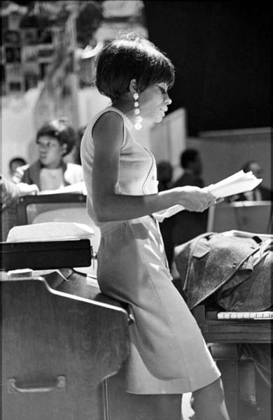 Photograph - Diana Ross On Hullabaloo by Michael Ochs Archives