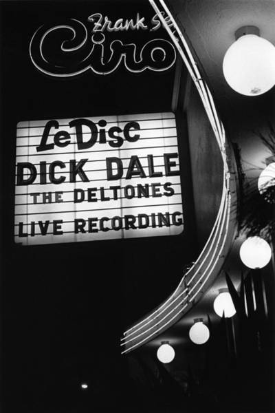 Wall Art - Photograph - Dick Dale At Ciros Le Disc by Michael Ochs Archives