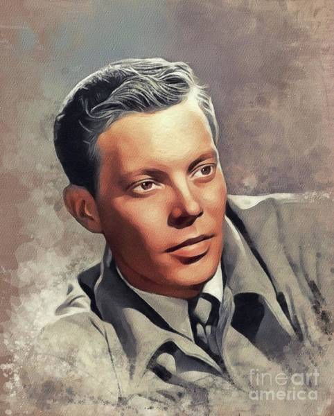 Wall Art - Painting - Dick Haymes, Music Legend by John Springfield