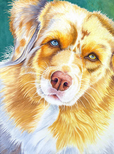 Painting - Did You Say Cookie ? by Tish Wynne