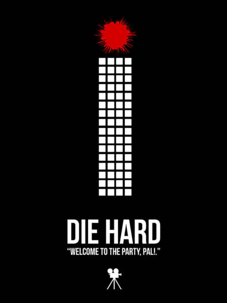 Wall Art - Digital Art - Die Hard by Naxart Studio