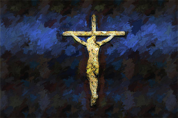 Digital Art - Christ Died For Your Sins by Carlos Diaz