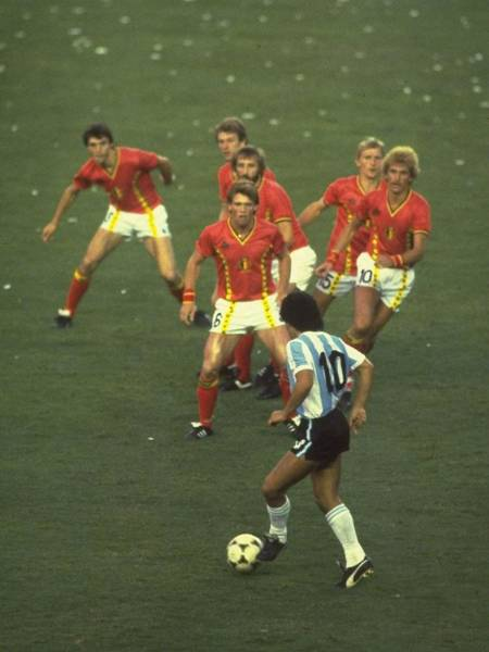 Photograph - Diego Maradona by Steve Powell