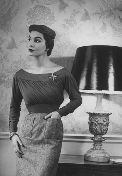 Photograph - Digby Morton Misc by Nina Leen