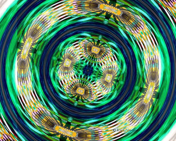 Mixed Media - Digital Art - Tilted Axis by Kae Cheatham