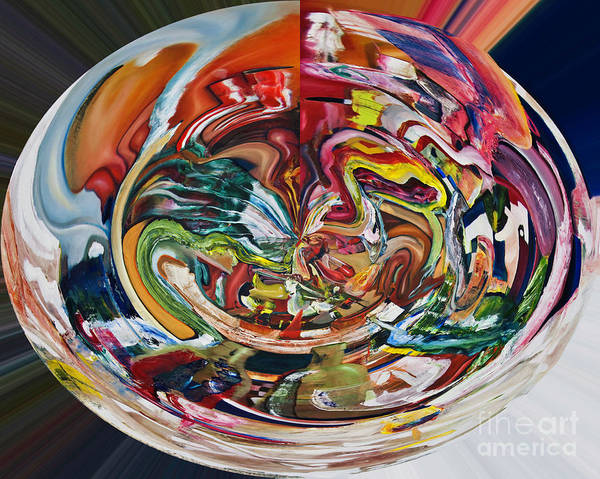 Digital Art - Digital Fish Supper by James Lavott