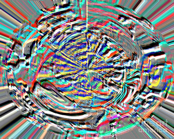 Digital Art - Digital II Mind That Hot Tea by James Lavott