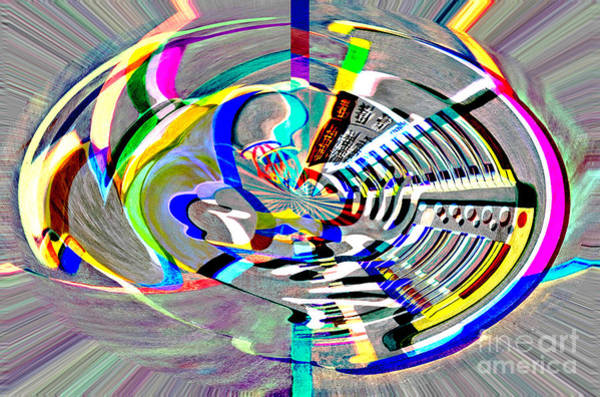 Painting - Digital II The Organist by James Lavott