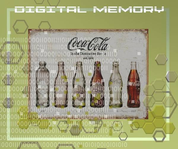 Digital Art - Digital Memory Coca Cola by Alberto RuiZ