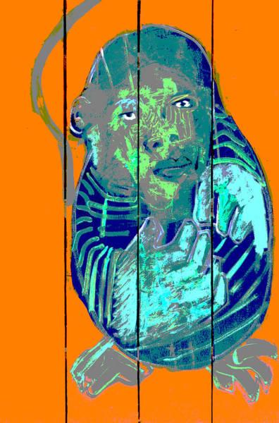 Digital Art -  Digital Monkey 1 by Artist Dot
