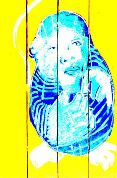 Digital Art - Digital Monkey 2 by Artist Dot