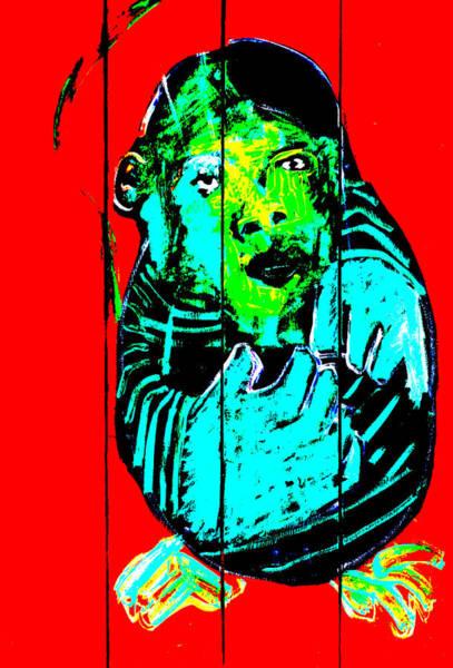 Digital Art - Digital Monkey 4 by Artist Dot