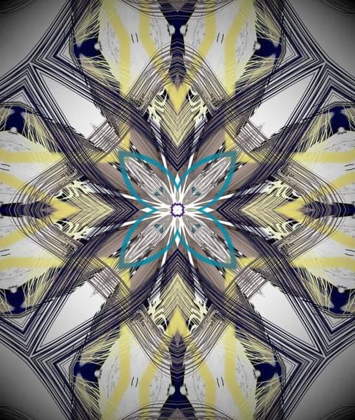 Digital Art - Digital Ornate Abstract by Sheila Wenzel