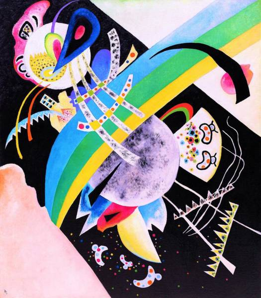 Wassily Kandinsky Painting - Digital Remastered Edition - Circle And Black by Wassily Kandinsky