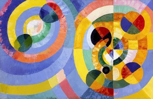 Circular Painting - Digital Remastered Edition - Circular Forms by Robert Delaunay
