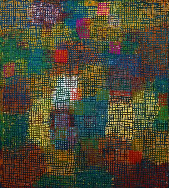 Color Block Painting - Digital Remastered Edition - Color From A Distance by Paul Klee
