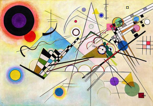 Wassily Kandinsky Painting - Digital Remastered Edition - Composition Viii by Wassily Kandinsky