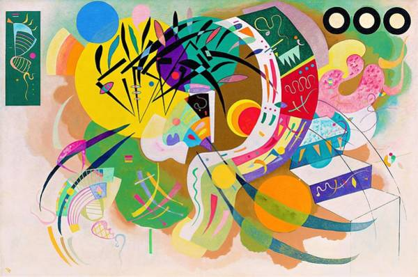 Wassily Kandinsky Painting - Digital Remastered Edition - Dominant Curve by Wassily Kandinsky