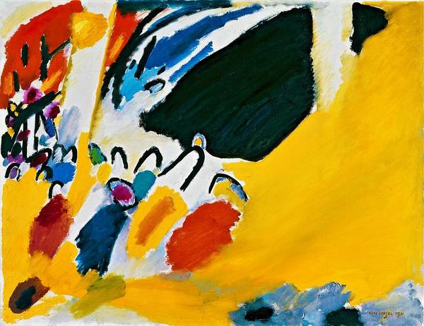 Enthusiasm Wall Art - Painting - Digital Remastered Edition - Impression IIi, Concert by Wassily Kandinsky