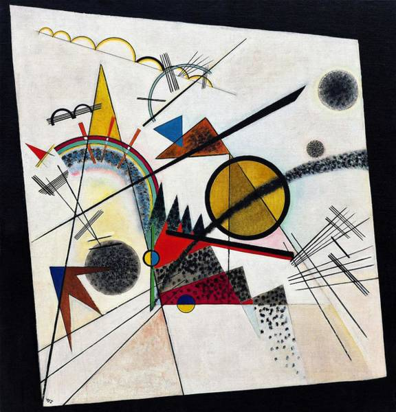 Wassily Kandinsky Painting - Digital Remastered Edition - In A Black Square by Wassily Kandinsky