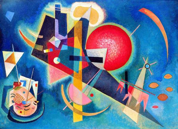 Wassily Kandinsky Painting - Digital Remastered Edition - In The Blue by Wassily Kandinsky