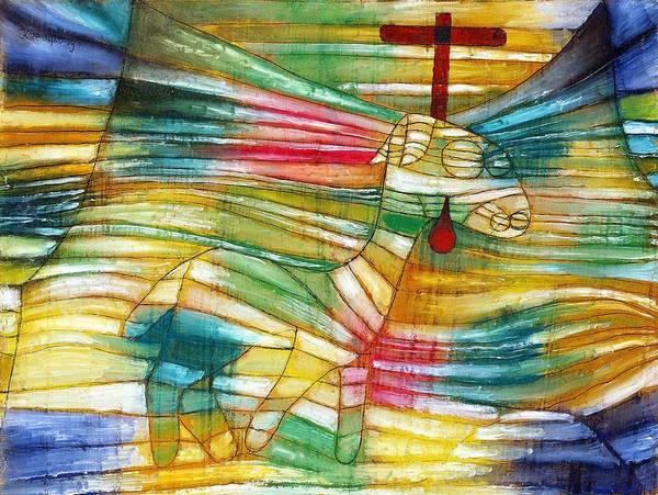 Enthusiasm Wall Art - Painting - Digital Remastered Edition - Lamb by Paul Klee