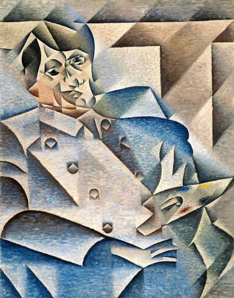 Wall Art - Painting - Digital Remastered Edition - Portrait Of Pablo Picasso by Juan Gris