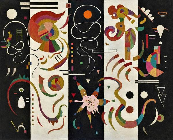 Wassily Kandinsky Painting - Digital Remastered Edition - Stripe by Wassily Kandinsky