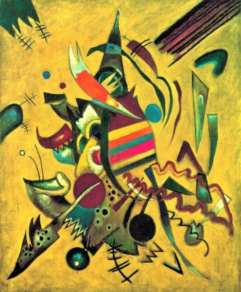 Wassily Kandinsky Painting - Digital Remastered Edition - The Point by Wassily Kandinsky