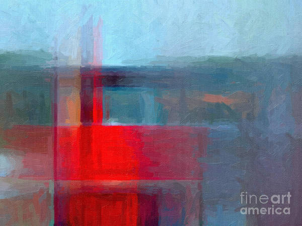 Blank Wall Art - Digital Art - Digital Structure Of Painting. Oil by Happy Person