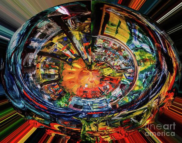 Digital Art - Digital The Sangria Jug by James Lavott