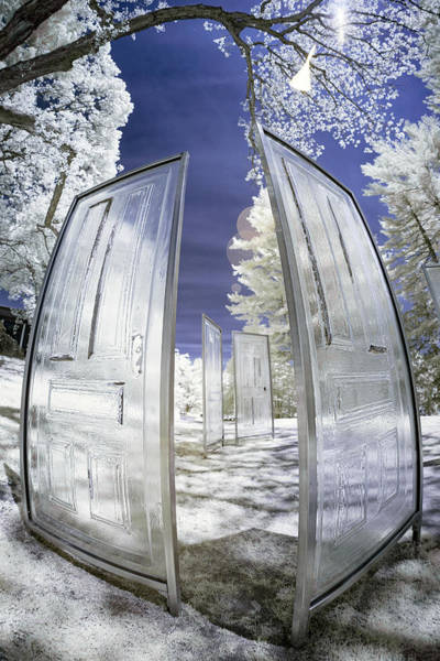 Photograph - Dimensional Doors by Brian Hale
