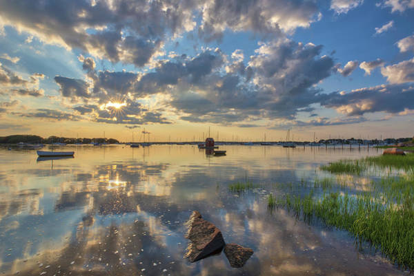 Photograph - Dimmick Waterfront Scenic Vista by Juergen Roth