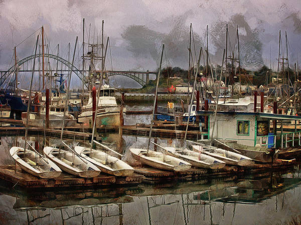 Wall Art - Photograph - Dinghies by Thom Zehrfeld