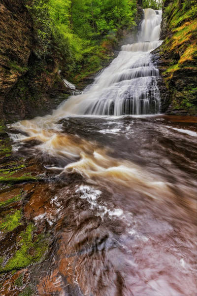 Photograph - Dingmans Water Falls Dwg by Susan Candelario