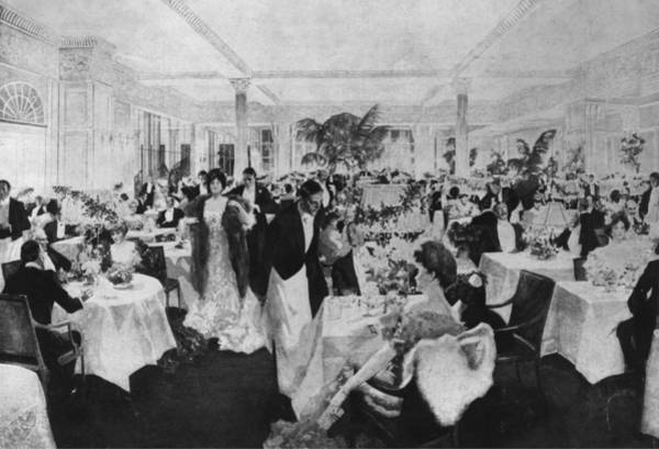 Waiter Photograph - Dining At The Savoy by Hulton Archive