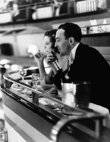 Wall Art - Photograph - Dining Out by Kurt Hutton