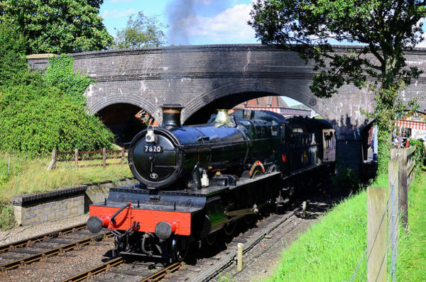 Photograph - Dinmore Manor 7820 by Steam Train